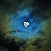 """Картины и панно ручной работы. Ярмарка Мастеров - ручная работа Фотокартина """"Магия Луны"""".. Handmade."""