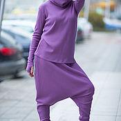 Одежда ручной работы. Ярмарка Мастеров - ручная работа Костюм, Женский костюм, Фиолетовый костюм, Модный костюм. Handmade.
