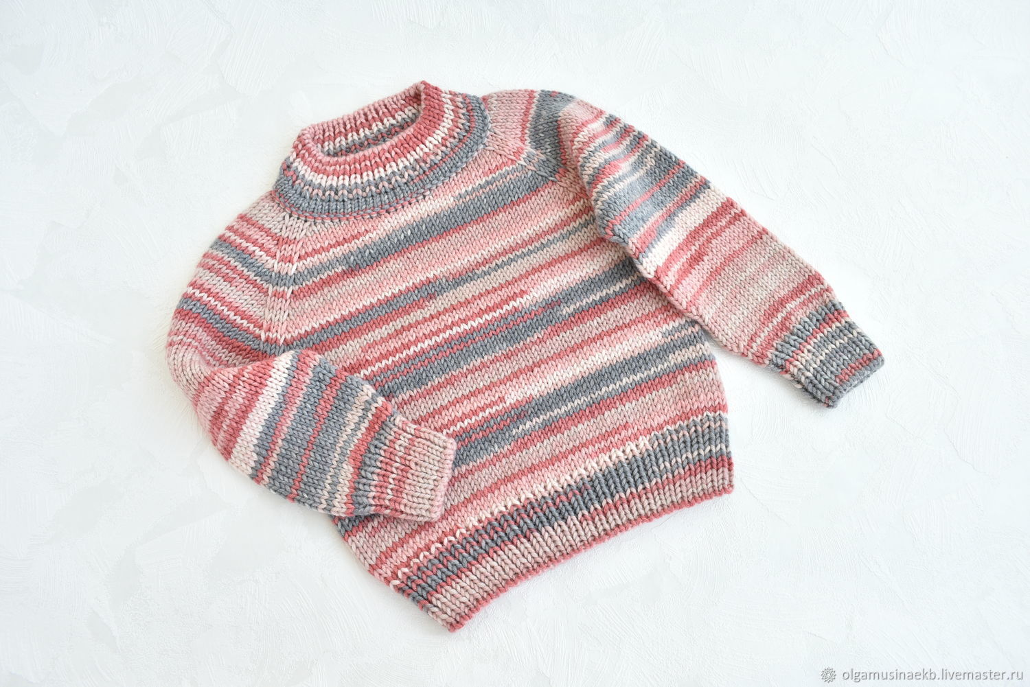 Children's knitted jumper for height 80-92 cm, Sweaters and jumpers, Ekaterinburg,  Фото №1