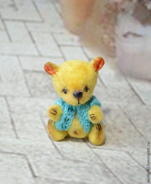 Мишки Тедди ручной работы. Ярмарка Мастеров - ручная работа. Купить Мишутка Винни. Handmade. Бежевый, подарок