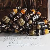 Украшения handmade. Livemaster - original item Multi-row bracelet