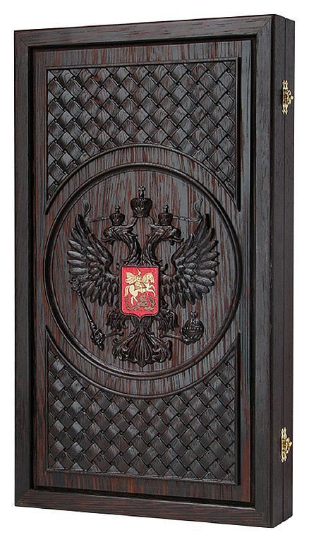 Подарки для мужчин, ручной работы. Ярмарка Мастеров - ручная работа. Купить Нарды, шашки Россия (венге) (17368). Handmade.