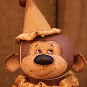 Куклы и игрушки ручной работы. Ярмарка Мастеров - ручная работа Обезьянка из цирка. Handmade.