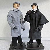 Куклы и игрушки ручной работы. Ярмарка Мастеров - ручная работа Холмс и Ватсон. Handmade.