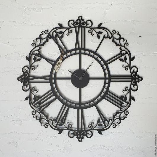 """Часы для дома ручной работы. Ярмарка Мастеров - ручная работа. Купить Часы 60см """"Aaris"""" черные. Handmade. Настенные часы"""