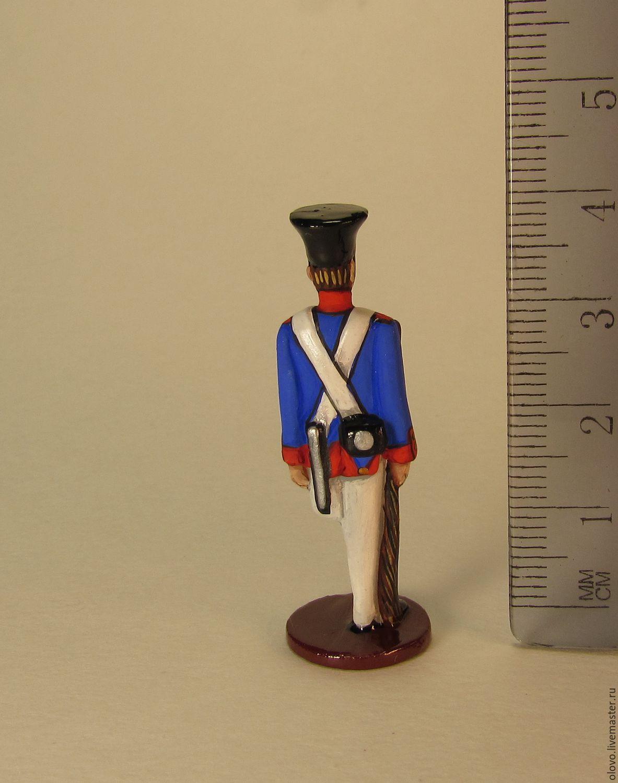 Рождение воина: изготовление оловянного солдатика 12