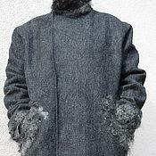 Одежда ручной работы. Ярмарка Мастеров - ручная работа Пальто валяное мужское. Handmade.