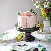 Для дома и интерьера handmade. Livemaster - original item Round stand for cake and cupcakes. Handmade.