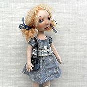 """Куклы и игрушки ручной работы. Ярмарка Мастеров - ручная работа """"Эля"""". Handmade."""