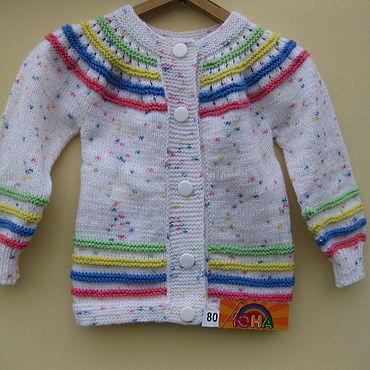 Одежда ручной работы. Ярмарка Мастеров - ручная работа Кофточка для девочки на рост 80см. Handmade.
