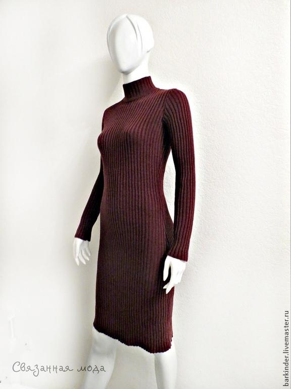Женские платья связанные резинкой