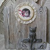 Для дома и интерьера ручной работы. Ярмарка Мастеров - ручная работа Кошки-мышки. Handmade.