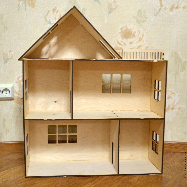 Кукольный домик из фанеры своими 88