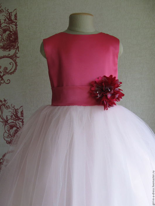 Одежда для девочек, ручной работы. Ярмарка Мастеров - ручная работа. Купить Нарядное платье для девочки. Handmade. Нарядное платье, тафта