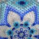 """Текстиль, ковры ручной работы. Салфетка из бисера """"Семь лепестков"""". Macrobiser (Инна Рогачева). Ярмарка Мастеров. Бисер, уют в доме"""
