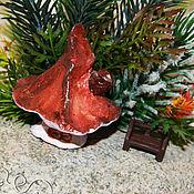 Сувениры и подарки handmade. Livemaster - original item House of Autumn in the winter forest. Handmade.