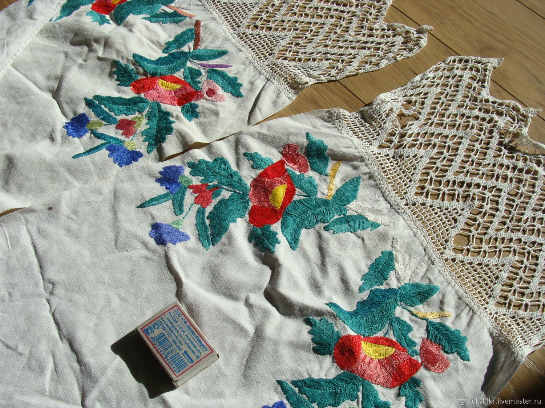 Винтажные предметы интерьера. Ярмарка Мастеров - ручная работа. Купить Винтаж: Рушник, вышивка, винтаж. Handmade.