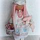 Коллекционные куклы ручной работы. Текстильная кукла LISSY. Алена Мазалова. Интернет-магазин Ярмарка Мастеров. Кукла ручной работы