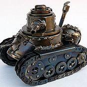 Канцелярские товары ручной работы. Ярмарка Мастеров - ручная работа паровой танк. Handmade.