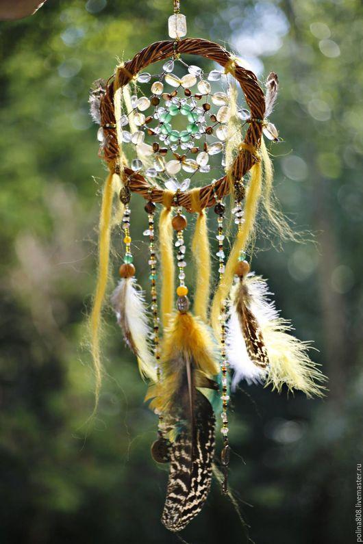 Ловцы снов ручной работы. Ярмарка Мастеров - ручная работа. Купить Ключ от волшебного леса. Handmade. Зеленый, ивовый круг