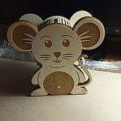 Копилки ручной работы. Ярмарка Мастеров - ручная работа Копилка мышка. Handmade.