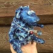 Куклы и игрушки ручной работы. Ярмарка Мастеров - ручная работа Баран Мефистофель из папье-маше. Handmade.