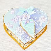 Сувениры и подарки handmade. Livemaster - original item Gingerbread box