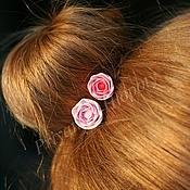 Свадебный салон ручной работы. Ярмарка Мастеров - ручная работа Роза - розочка. Handmade.