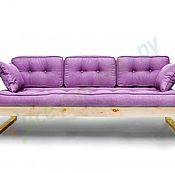 Для дома и интерьера ручной работы. Ярмарка Мастеров - ручная работа Диван Aster  (фиолетовый). Handmade.
