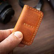 Сумки и аксессуары handmade. Livemaster - original item Cardholders for SD memory cards XQD CF. Handmade.