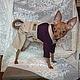 """Одежда для собак, ручной работы. Ярмарка Мастеров - ручная работа. Купить Одежда для собак. Водолазка """"И в пир, и в мир"""" 2. Handmade."""