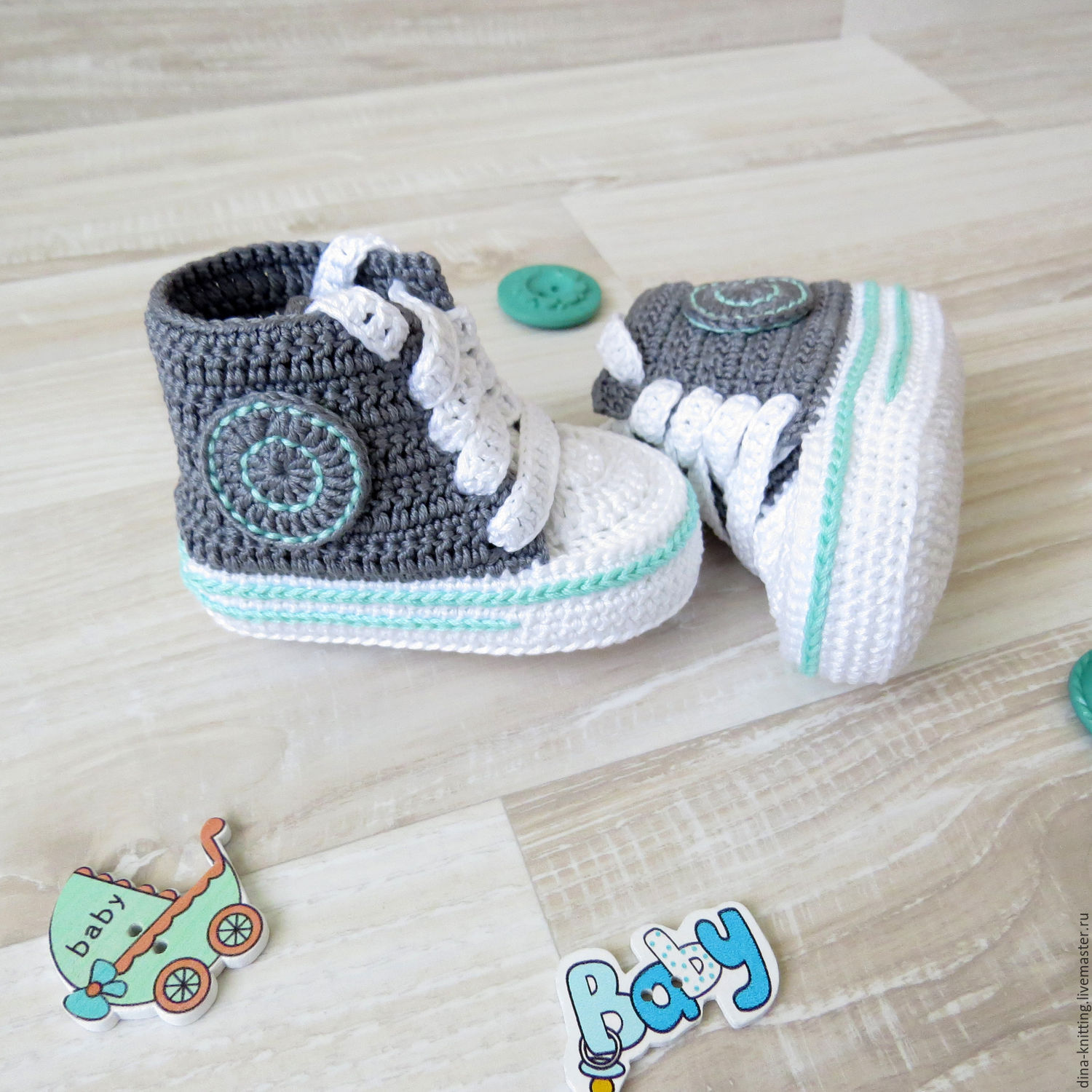 booties crocheted shoes for baby boy t newborn dark gray – shop