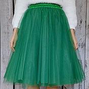 """Одежда ручной работы. Ярмарка Мастеров - ручная работа Фатиновая юбочка """"Летняя зелень"""". Handmade."""