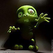 Куклы и игрушки ручной работы. Ярмарка Мастеров - ручная работа заяц-ЗомбачОк. Handmade.
