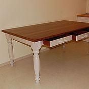 Столы ручной работы. Ярмарка Мастеров - ручная работа Стол обеденный, дубовый. Handmade.