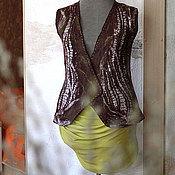 Одежда ручной работы. Ярмарка Мастеров - ручная работа Жилет валяный Relief. Handmade.