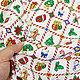 Шитье ручной работы. Заказать Ткань хлопок Новый год Квадраты. Рукоделие дома Товары для рукоделия. Ярмарка Мастеров. 100% хлопок