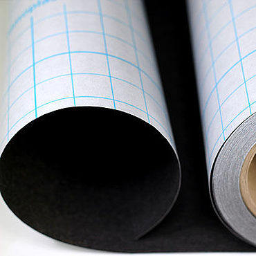 Материалы для творчества ручной работы. Ярмарка Мастеров - ручная работа Клеевая бумага Filmoplast GUNOLD черная. Handmade.