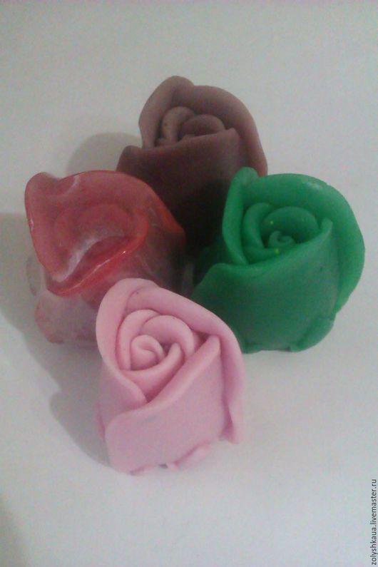 мыло бутон розы