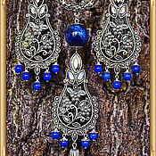 Украшения ручной работы. Ярмарка Мастеров - ручная работа Стильный набор Вазы в античном серебре. Handmade.