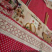 Материалы для творчества ручной работы. Ярмарка Мастеров - ручная работа Несессер для рукоделия. Handmade.