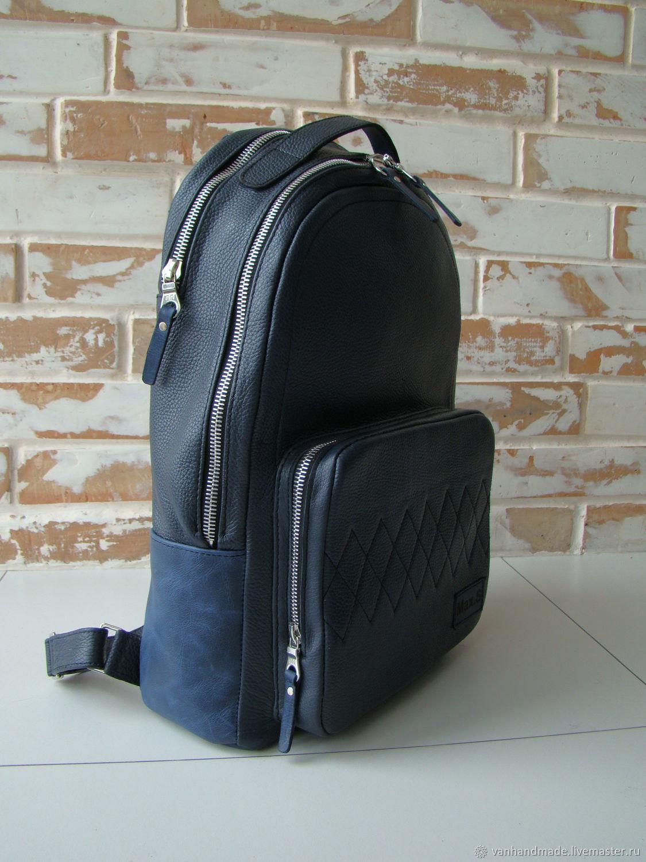 Стильный качественный кожаный рюкзак/ бизнес рюкзак, Рюкзаки, Киев,  Фото №1