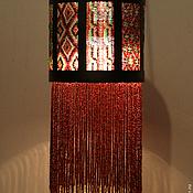 Для дома и интерьера ручной работы. Ярмарка Мастеров - ручная работа будуарный фонарь из бисера. Handmade.