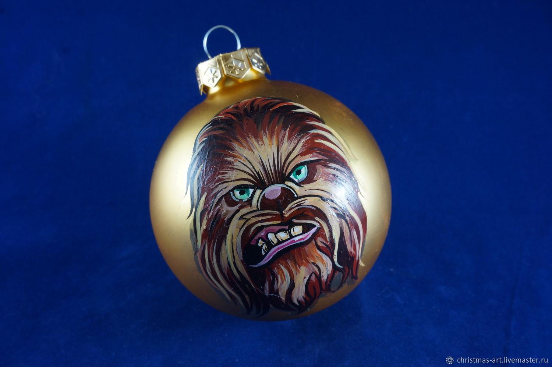 order christmas ball christmas toys christmas toy chewbacca star - Chewbacca Christmas Ornament