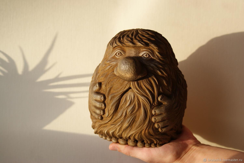 Домовенок из дерева своими руками 85