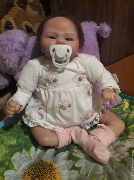 Куклы-младенцы и reborn ручной работы. Ярмарка Мастеров - ручная работа. Купить Куколка реборн Евочка. Handmade. Кукла реборн