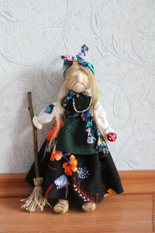 Народные куклы ручной работы. Ярмарка Мастеров - ручная работа. Купить Баба-яга. Handmade. Баба яга, оберег для семьи
