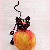 Куклы и игрушки ручной работы. Ярмарка Мастеров - ручная работа Маленький  котёнок ( 11,5 см). Handmade.