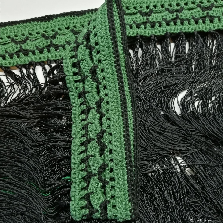 Флекос для фламенко зелёный, Палантины, Москва,  Фото №1