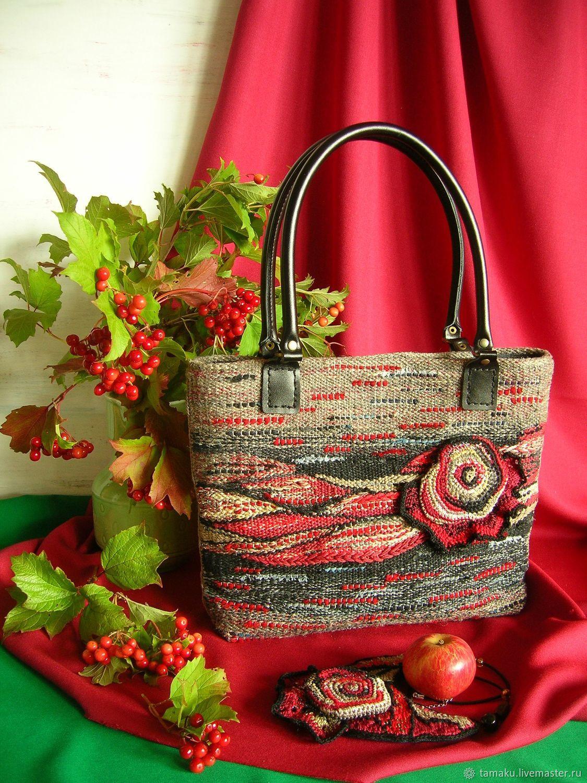 Сумка ручного ткачества Кармен, Классическая сумка, Пенза,  Фото №1